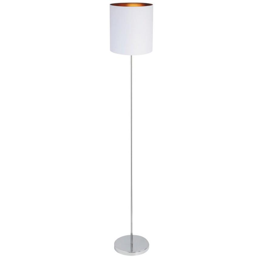 Lampadar design modern MONICA alb/auriu 2529 RX, Magazin,  a