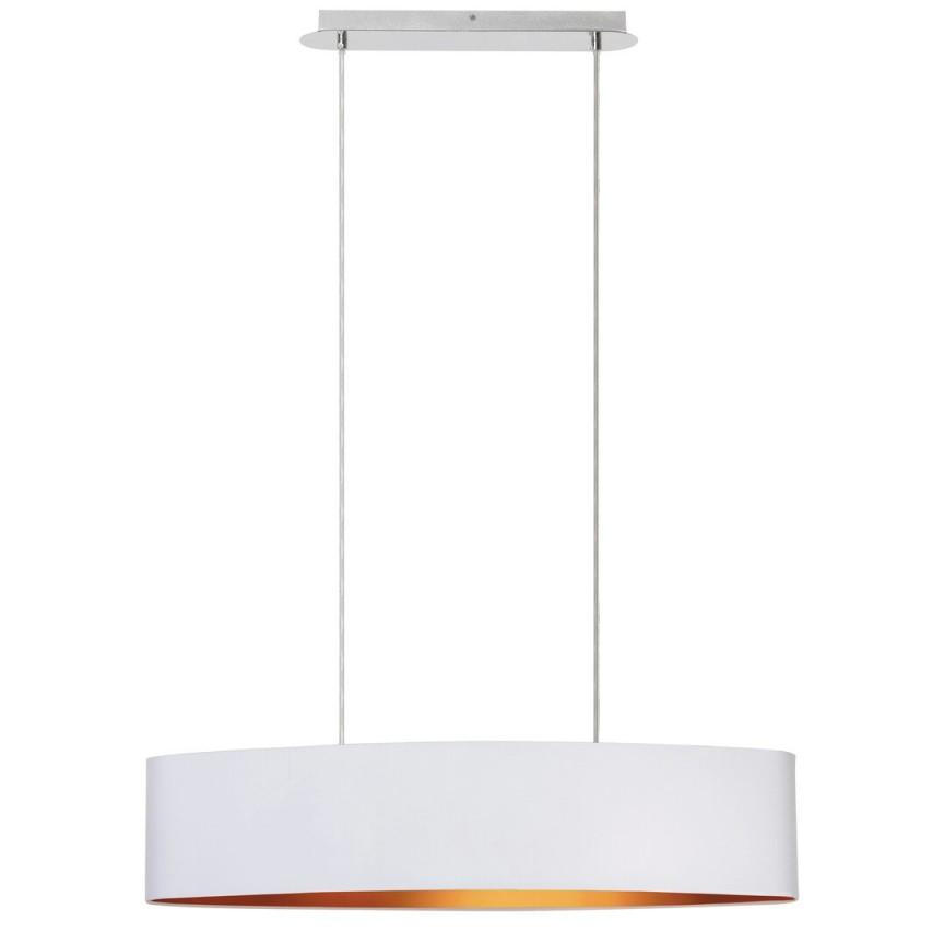 Lustra suspendata design modern MONICA alb/auriu 2532 RX, Magazin,  a