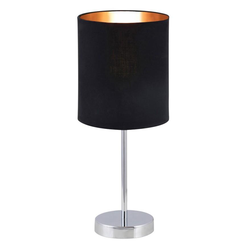 Veioza design modern MONICA negru/auriu 2523 RX, Magazin,  a