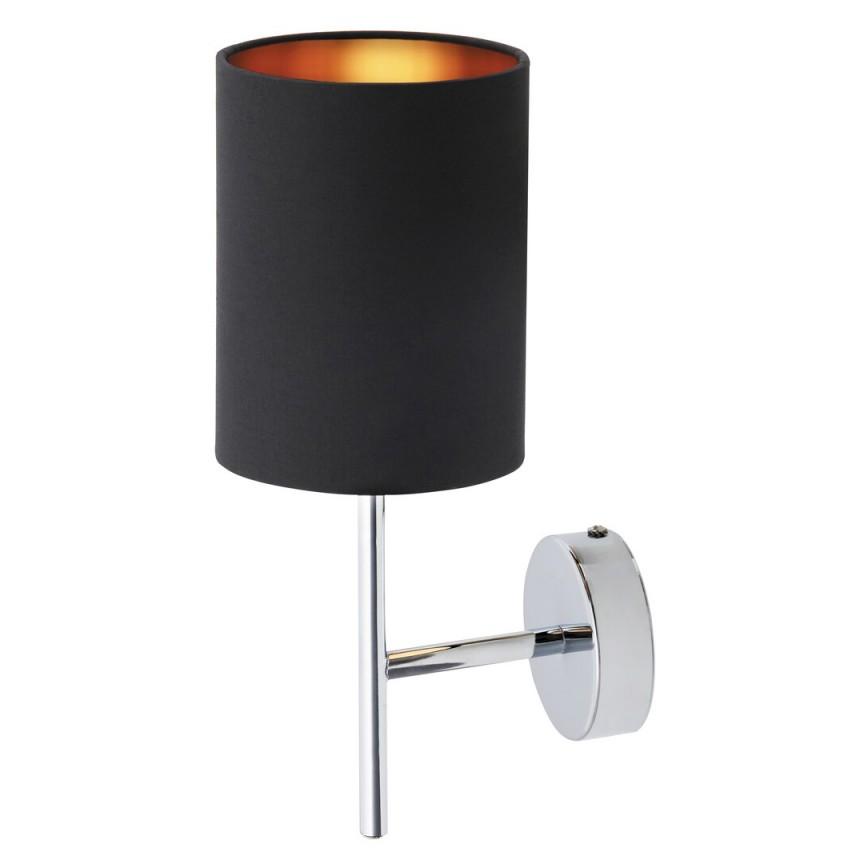 Aplica de perete design modern MONICA negru/auriu 2525 RX, Magazin,  a