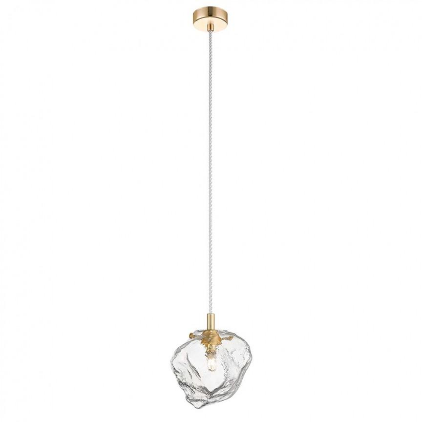 Pendul modern design decorativ original ROCK I auriu P0488-01F-U8AC ZL, Magazin,  a
