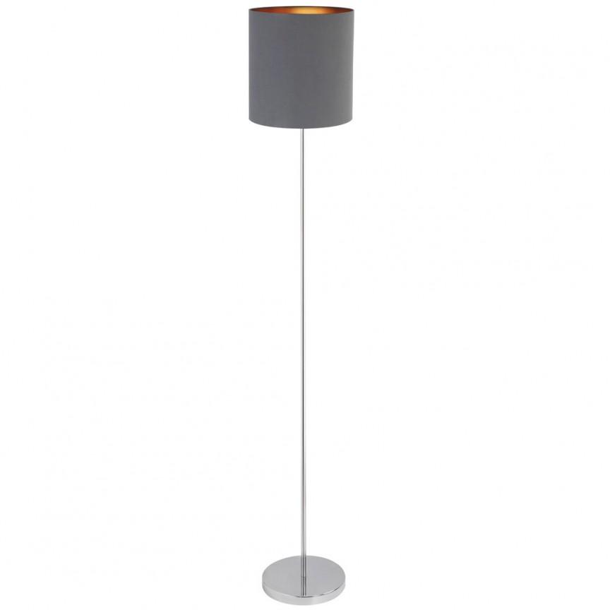 Lampadar design modern MONICA gri/auriu 2539 RX, Magazin,  a