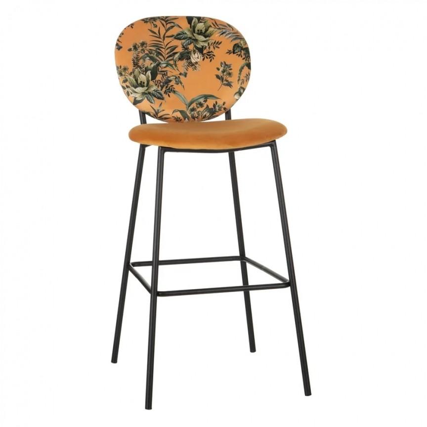 Set de 2 scaune de bar, tesatura cu imprimeu floral FLORES MOSTAZA SX-600124, Scaune de bar inalte⭐ modele moderne reglabile pe inaltime din lemn sau metal pentru bar bucatarie, mese cafenea.❤️Promotii scaune de bar❗ Intra si vezi poze ➽ www.evalight.ro. ➽ sursa ta de inspiratie online❗ ✅Design de lux original premium actual Top 2020❗ Alege scaunele de bar potrivite pt pult casa si mobilier dining si restaurant HoReCa, stil vintage (retro si industriale), tip taburete, rotative, rezistente, cu sejut din plastic sau tapitate cu catifea, piele naturala (ecologica), din material textil, cu spatar si brate, picioare lemn, metalice cu rotile, pivotante cu piston, cu roti, pliabile, intra ➽vezi oferte si reduceri cu vanzare rapida din stoc, ieftine si de calitate deosebita la cel mai bun pret. a