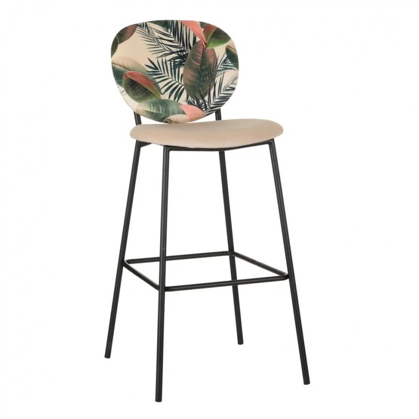 Set de 2 scaune de bar, tesatura cu imprimeu floral HOJAS CREMA SX-600123, Scaune de bar inalte⭐ modele moderne reglabile pe inaltime din lemn sau metal pentru bar bucatarie, mese cafenea.❤️Promotii scaune de bar❗ Intra si vezi poze ➽ www.evalight.ro. ➽ sursa ta de inspiratie online❗ ✅Design de lux original premium actual Top 2020❗ Alege scaunele de bar potrivite pt pult casa si mobilier dining si restaurant HoReCa, stil vintage (retro si industriale), tip taburete, rotative, rezistente, cu sejut din plastic sau tapitate cu catifea, piele naturala (ecologica), din material textil, cu spatar si brate, picioare lemn, metalice cu rotile, pivotante cu piston, cu roti, pliabile, intra ➽vezi oferte si reduceri cu vanzare rapida din stoc, ieftine si de calitate deosebita la cel mai bun pret. a