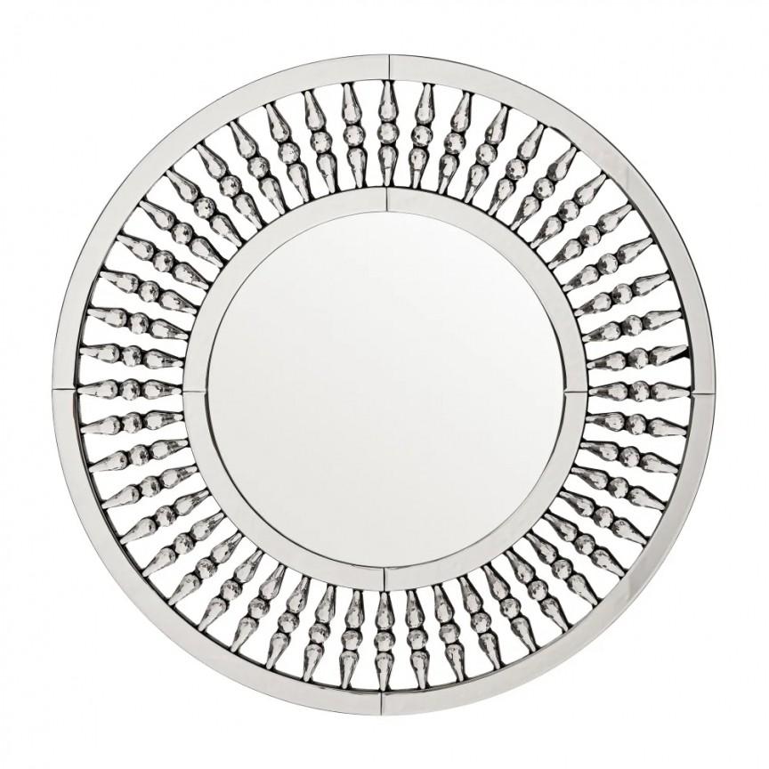 Oglinda design LUX Tiffany 80cm SX-600008, Oglinzi decorative moderne✅ decoratiuni de perete cu oglinda⭐ modele mari si rotunde pentru Hol, Living, Dormitor si Baie.❤️Promotii la oglinzi cu design decorativ❗ Intra si vezi poze ✚ pret ➽ www.evalight.ro. ➽ sursa ta de inspiratie online❗ Alege oglinzi deosebite Art Deco de lux pentru decorare casa, fabricate de branduri renumite. Aici gasesti cele mai frumoase si rafinate obiecte de decor cu stil contemporan unicat, oglinzi elegante cu suport de prindere pe perete, de masa sau de podea potrivite pt dresing, cu rama din metal cu aspect antichizat sau lemn de culoare aurie, sticla argintie in diferite forme: oglinzi in forma de soare, hexagonale tip fagure hexagon, ovale, patrate mici, rectangulara sau dreptunghiulara, design original exclusivist: industrial style, retro, vintage (produse manual handmade), scandinav nordic, clasic, baroc, glamour, romantic, rustic, minimalist. Tendinte si idei actuale de designer pentru amenajari interioare premium Top 2020❗ Oferte si reduceri speciale cu vanzare rapida din stoc, oglinzi de calitate la cel mai bun pret. a