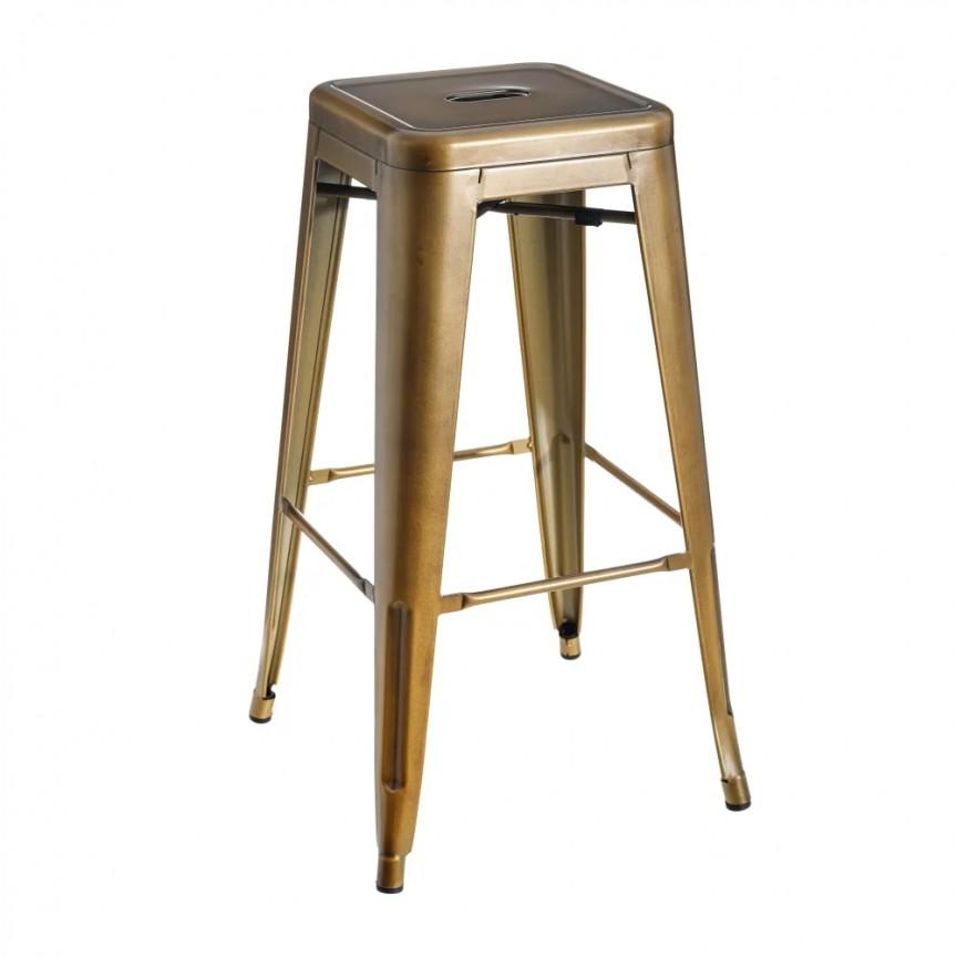 Set de 2 scaune bar design industrial DALLAS H76,5cm auriu SX-600134, Scaune de bar inalte⭐ modele moderne reglabile pe inaltime din lemn sau metal pentru bar bucatarie, mese cafenea.❤️Promotii scaune de bar❗ Intra si vezi poze ➽ www.evalight.ro. ➽ sursa ta de inspiratie online❗ ✅Design de lux original premium actual Top 2020❗ Alege scaunele de bar potrivite pt pult casa si mobilier dining si restaurant HoReCa, stil vintage (retro si industriale), tip taburete, rotative, rezistente, cu sejut din plastic sau tapitate cu catifea, piele naturala (ecologica), din material textil, cu spatar si brate, picioare lemn, metalice cu rotile, pivotante cu piston, cu roti, pliabile, intra ➽vezi oferte si reduceri cu vanzare rapida din stoc, ieftine si de calitate deosebita la cel mai bun pret. a