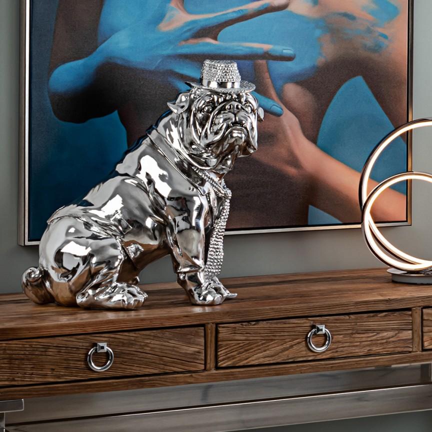 Figurina decorativa caine medium size Bulldog Hat SV-841207, Statuete / Figurine decorative moderne⭐ decoratiuni interioare de lux pentru casa❗❤️Promotii obiecte de decor pt living si dormitor❗ Intra si vezi idei decorare ✚ poze ➽ www.evalight.ro. ➽ sursa ta de inspiratie online❗ ✅ Vezi articole si accesorii cu stil Art Deco originale premium, stil actual în trend cu moda Top 2020❗ Alege modele decorative deosebite de interior cu stil vintage & retro, rustic, antic, decoratiuni de perete si statui bronz mari si mici, tablouri tip basorelief, ceasuri, din piatra, lemn, metal, marmura, fibra de sticla, rasina si polirasina, mozaic oglinda, alama, pt amenajarea casei, intra ➽vezi oferte si reduceri cu vanzare rapida din stoc, ieftine si de calitate deosebita la cel mai bun pret. a