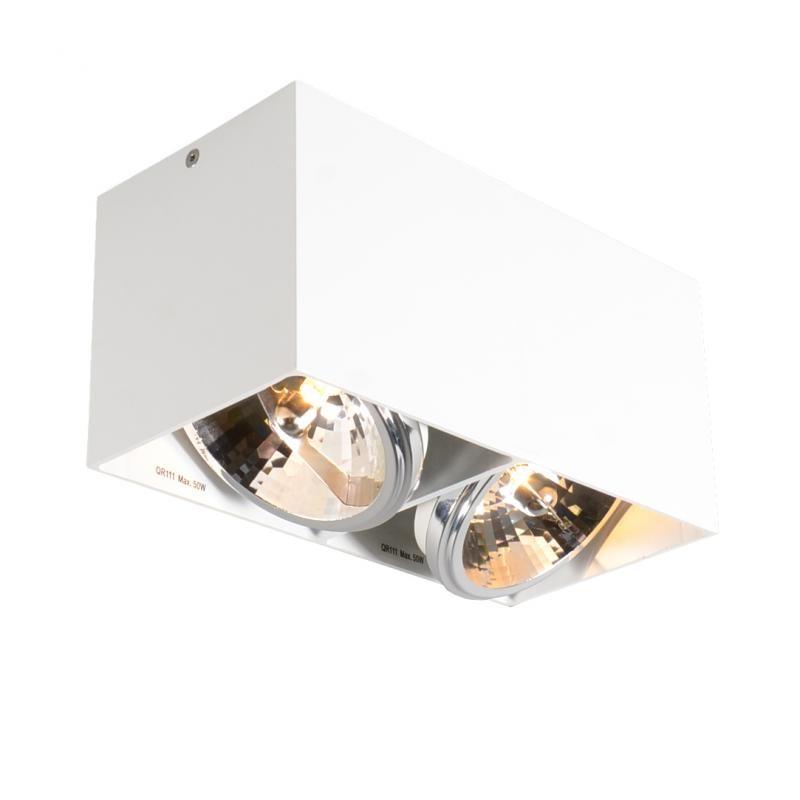 Spot modern aplicat Box SL2 89949, Spoturi incastrate, aplicate - tavan / perete, Corpuri de iluminat, lustre, aplice a