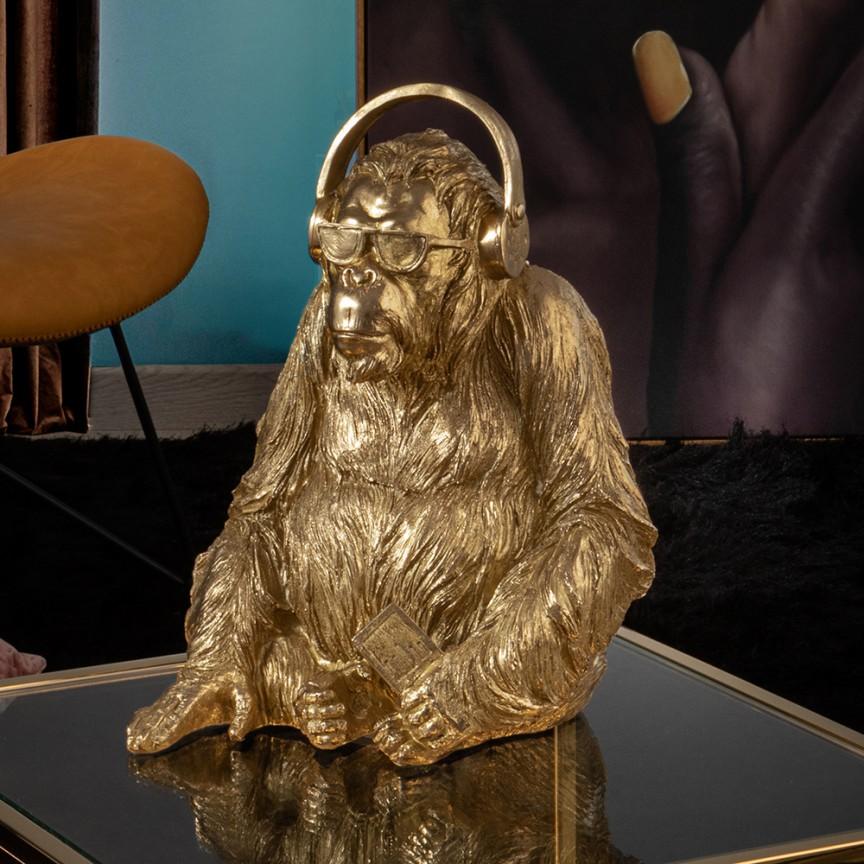 Statueta / Figurina decorativa medium Orangutan Music SV-925914, Statuete / Figurine decorative moderne⭐ decoratiuni interioare de lux pentru casa❗❤️Promotii obiecte de decor pt living si dormitor❗ Intra si vezi idei decorare ✚ poze ➽ www.evalight.ro. ➽ sursa ta de inspiratie online❗ ✅ Vezi articole si accesorii cu stil Art Deco originale premium, stil actual în trend cu moda Top 2020❗ Alege modele decorative deosebite de interior cu stil vintage & retro, rustic, antic, decoratiuni de perete si statui bronz mari si mici, tablouri tip basorelief, ceasuri, din piatra, lemn, metal, marmura, fibra de sticla, rasina si polirasina, mozaic oglinda, alama, pt amenajarea casei, intra ➽vezi oferte si reduceri cu vanzare rapida din stoc, ieftine si de calitate deosebita la cel mai bun pret. a