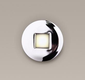 Spot incastrabil, cromat, cu protectie IP65, diam.8,5cm, SCR H0043 MX, Spoturi incastrate, aplicate - tavan / perete, Corpuri de iluminat, lustre, aplice a