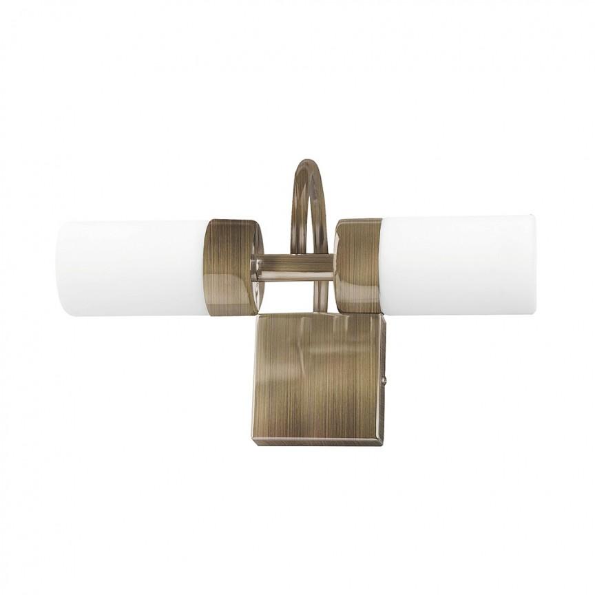 Aplica perete LED pentru oglinda baie IP44 Betty 2L 5746 RX, Aplice pentru baie / oglinda / tablou, perete⭐ modele moderne, clasice, potrivite in baie. ✅Design premium actual Top 2020! ❤️Promotii lampi baie cu LED❗ ➽ www.evalight.ro. Alege oferte la corpuri de iluminat de perete baie LED si tavan tip plafoniere, pt interior, cu priza, intrerupator (snur), senzor, rezistente la apa (umiditate), ieftine sau de lux, calitate deosebita la cel mai bun pret! a