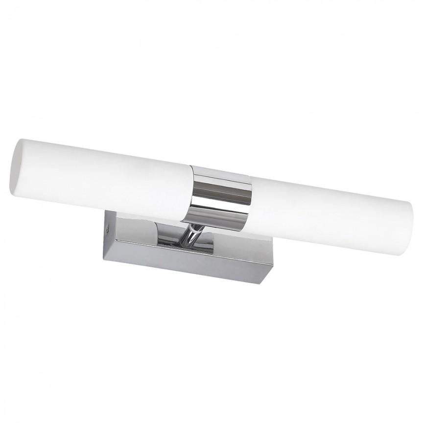 Aplica perete LED pentru oglinda baie IP44 Jim 2L 5750 RX, Aplice pentru baie / oglinda / tablou, perete⭐ modele moderne, clasice, potrivite in baie. ✅Design premium actual Top 2020! ❤️Promotii lampi baie cu LED❗ ➽ www.evalight.ro. Alege oferte la corpuri de iluminat de perete baie LED si tavan tip plafoniere, pt interior, cu priza, intrerupator (snur), senzor, rezistente la apa (umiditate), ieftine sau de lux, calitate deosebita la cel mai bun pret! a