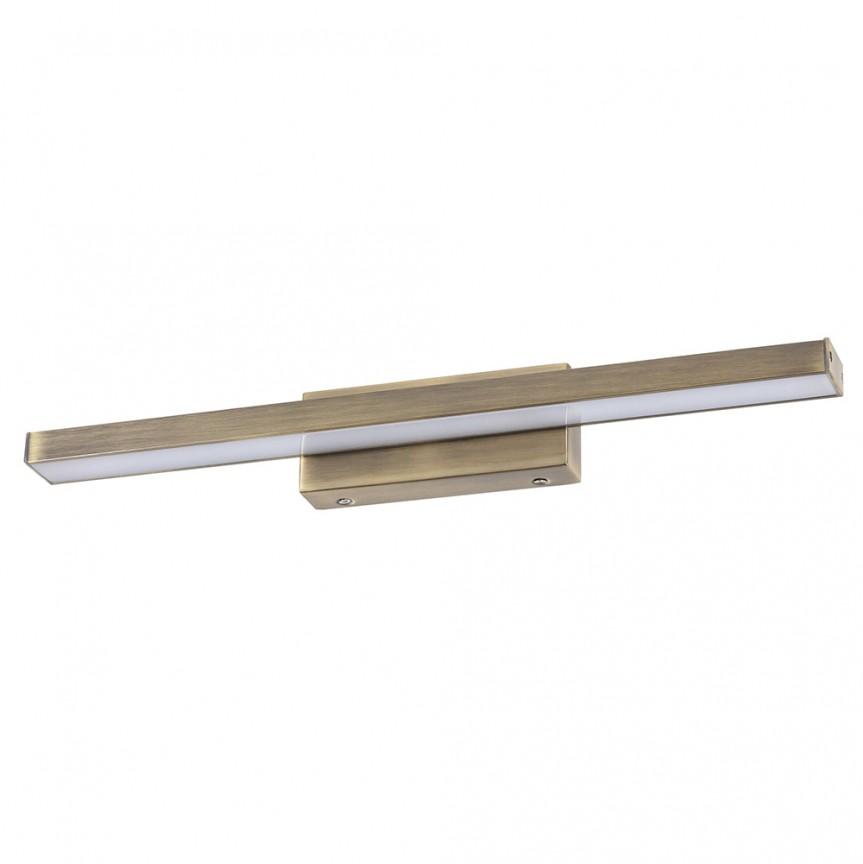 Aplica de perete LED baie, oglinda IP44 John II 18W bronz 6130 RX, Aplice pentru baie / oglinda / tablou, perete⭐ modele moderne, clasice, potrivite in baie. ✅Design premium actual Top 2020! ❤️Promotii lampi baie cu LED❗ ➽ www.evalight.ro. Alege oferte la corpuri de iluminat de perete baie LED si tavan tip plafoniere, pt interior, cu priza, intrerupator (snur), senzor, rezistente la apa (umiditate), ieftine sau de lux, calitate deosebita la cel mai bun pret! a