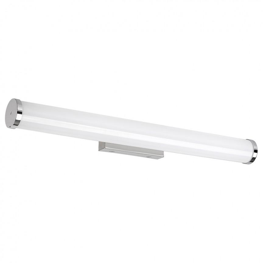 Aplica de perete LED pentru oglinda baie cu protectie IP44 Sonja 2107 RX L-34cm, Aplice pentru baie / oglinda / tablou, perete⭐ modele moderne, clasice, potrivite in baie. ✅Design premium actual Top 2020! ❤️Promotii lampi baie cu LED❗ ➽ www.evalight.ro. Alege oferte la corpuri de iluminat de perete baie LED si tavan tip plafoniere, pt interior, cu priza, intrerupator (snur), senzor, rezistente la apa (umiditate), ieftine sau de lux, calitate deosebita la cel mai bun pret! a