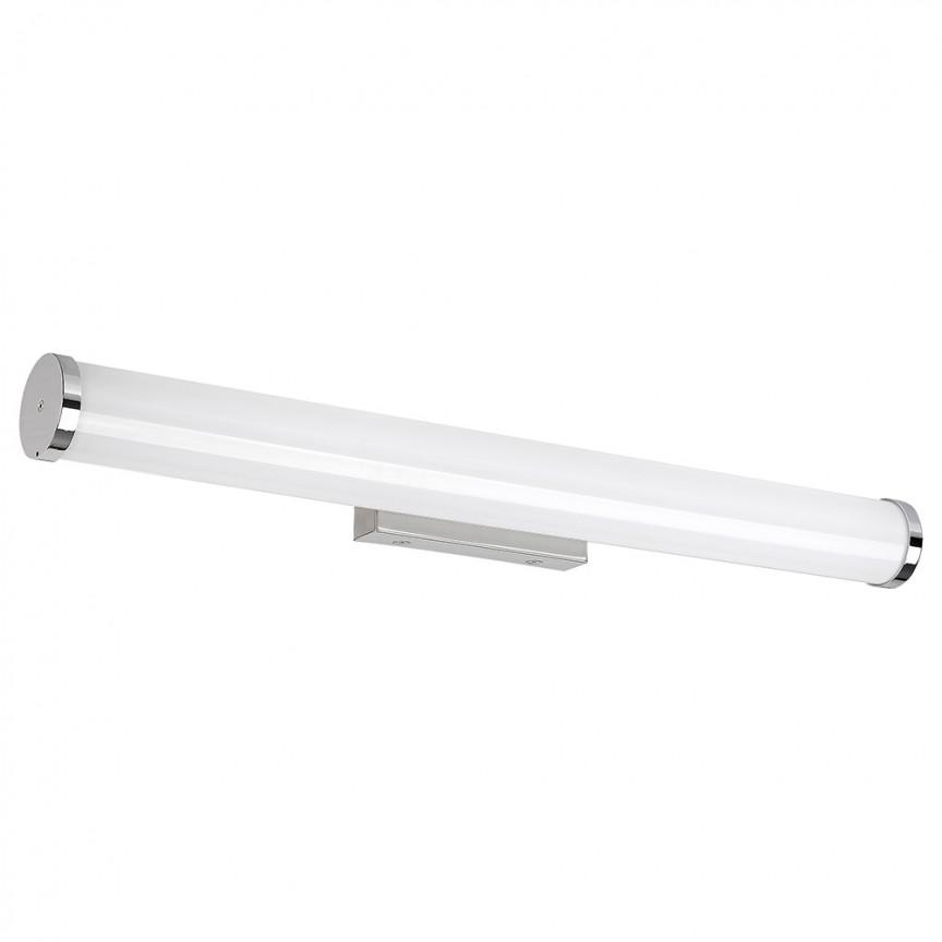 Aplica de perete LED pentru oglinda baie cu protectie IP44 Sonja L-63,5cm 2109 RX, Aplice pentru baie / oglinda / tablou, perete⭐ modele moderne, clasice, potrivite in baie. ✅Design premium actual Top 2020! ❤️Promotii lampi baie cu LED❗ ➽ www.evalight.ro. Alege oferte la corpuri de iluminat de perete baie LED si tavan tip plafoniere, pt interior, cu priza, intrerupator (snur), senzor, rezistente la apa (umiditate), ieftine sau de lux, calitate deosebita la cel mai bun pret! a