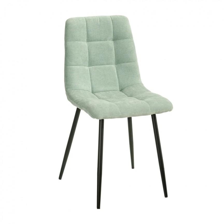 Set de 4 scaune design modern Julien, catifea albastra deschis SX-154412, Magazin,  a