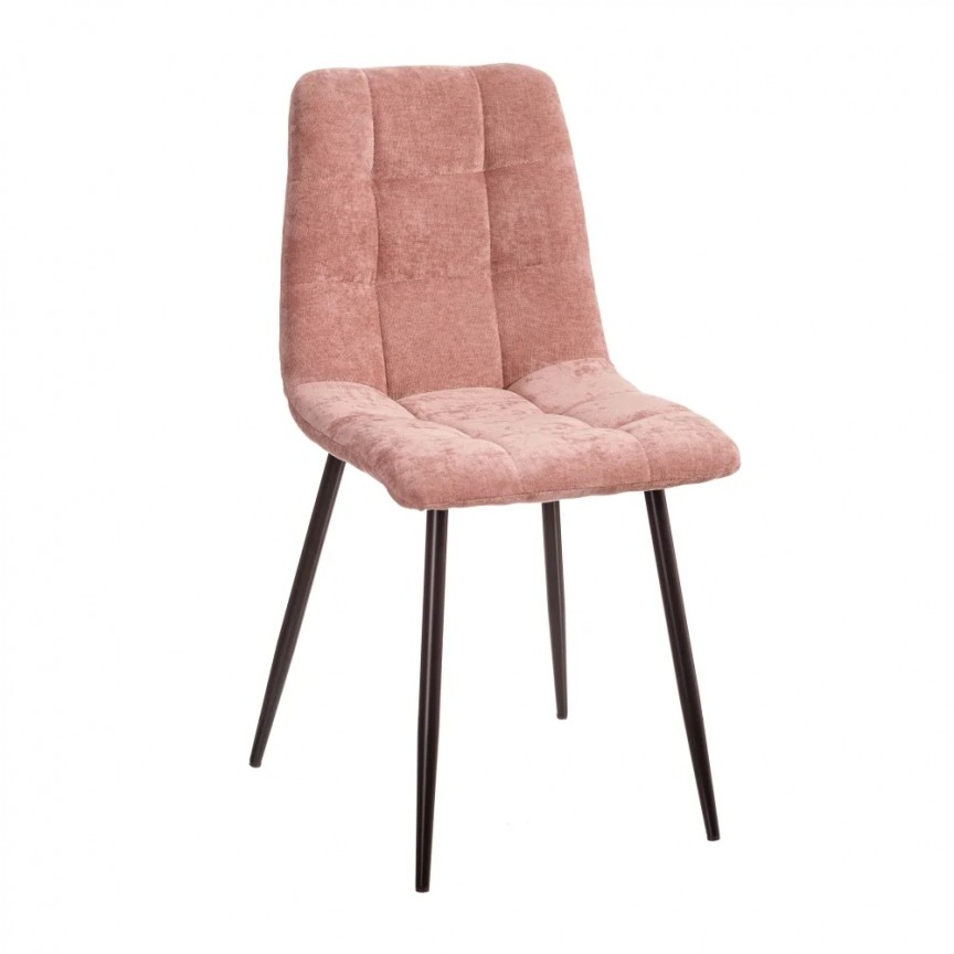 Set de 4 scaune design modern Julien, catifea roz SX-154410, Magazin,  a