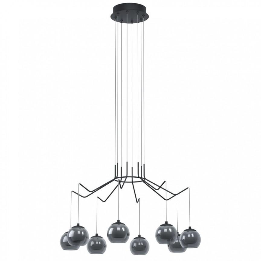 Lustra moderna dimabila cu 8 pendule LED ROVIGANA 39511 EL, Magazin,  a