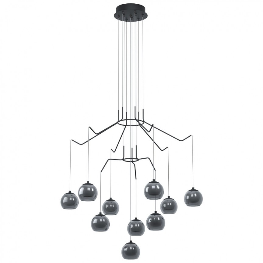 Lustra moderna dimabila cu 10 pendule LED ROVIGANA 39512 EL, Magazin,  a