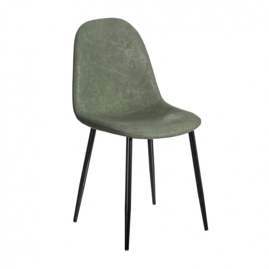 Set de 2 scaune design modern Jaffer, verde-negru SX-154394, Magazin,  a