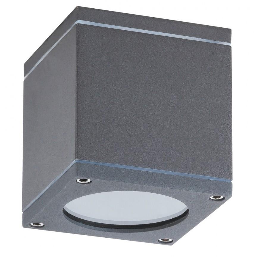 Plafoniera, spot pentru iluminat exterior cu protectie IP44 antracit Akron 8149 RX, Magazin,  a