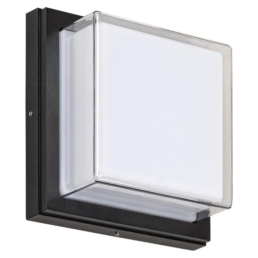 Aplica pentru iluminat exterior cu protectie IP54 Andorra negru 8829 RX, Aplice de exterior moderne LED⭐modele de lampi potrivite pentru iluminare perete casa, terasa, curte si gradina.✅Design premium actual Top 2020!❤️Promotii Aplice de perete exterior❗ ➽ www.evalight.ro. Alege oferte la corpuri de iluminat decorative rezistente la apa, cu lumina ambientala, (solare cu panou solar si senzori de miscare, becuri economice cu LED), ieftine si de lux, calitate deosebita la cel mai bun pret. a