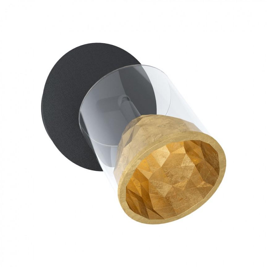 Aplica LED dimabila perete sau tavan cu spot directionabil MELITO 39573 EL, Aplice aplicate perete sau tavan cu spot, LED⭐ modele moderne corpuri de iluminat tip spot-uri pe bara.✅Design decorativ 2021!❤️Promotii lampi❗ ➽ www.evalight.ro. Alege oferte aplice de iluminat interior, lustre si plafoniere cu 1 spot cu lumina LED si directie reglabila, spot orientabil cu intrerupator, simple si ieftine de calitate la cel mai bun pret. a