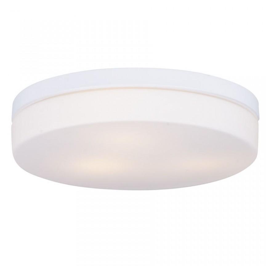 Plafoniera alba cu protectie IP44 Oda C0193 MX, Plafoniere cu protectie pentru baie, LED⭐ modele moderne de lux potrivite în baie. ✅Design premium actual Top 2020! ❤️Promotii lampi❗ ➽ www.evalight.ro. Corpuri de iluminat baie pt interior de tip lustre si spoturi aplicate sau incastrate, (tavan fals rigips, oglinda), cu led-uri si lumini puternice, rotunde si patrate, rezistente la apa (umiditate), ieftine de calitate deosebita la cel mai bun pret! a