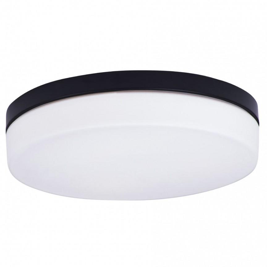 Plafoniera neagra cu protectie IP44 Oda C0194 MX, Plafoniere cu protectie pentru baie, LED⭐ modele moderne de lux potrivite în baie. ✅Design premium actual Top 2020! ❤️Promotii lampi❗ ➽ www.evalight.ro. Corpuri de iluminat baie pt interior de tip lustre si spoturi aplicate sau incastrate, (tavan fals rigips, oglinda), cu led-uri si lumini puternice, rotunde si patrate, rezistente la apa (umiditate), ieftine de calitate deosebita la cel mai bun pret! a