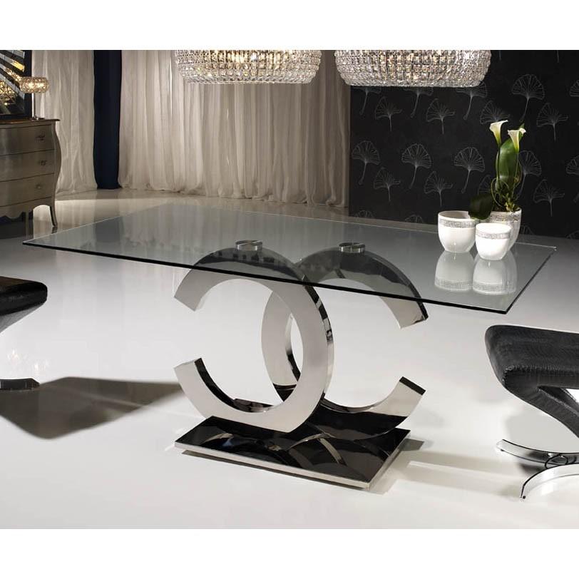 Masa Dining eleganta Calima 160x90cm SV-820426 / 2059P, Mobila si Decoratiuni interioare moderne de lux⭐ piese de mobilier modern cu stil exclusivist pentru casa✅ colectii dormitor si living.❤️Promotii la mobila si decoratiuni❗ Intra si vezi modele ✚ poze ✚ pret ➽ www.evalight.ro. ➽ sursa ta de inspiratie online❗ Idei si tendinte de design actual pentru amenajari premium Top 2020❗ Mobila moderna unicat cu stil elegant contemporan ultra-modern, accesorii si oglinzi decorative de perete potrivite pentru interior si exterior. Cele mai noi si apreciate stiluri la mobila si mobilier cu design original: stil industrial style, retro, vintage (boem, veche, reconditionata, realizata manual (noua nu second hand), handmade, sculptata, scandinav (nordic), clasic (baroc, glamour, romantic, art deco, boho, shabby chic, feng shui), rustic (traditional), urban minimalist. Alege cele mai frumoase si rafinate articole si obiecte decorative deosebite, textile si tesaturi scumpe, vezi seturi de mobilier modular pe colt pt spatii mici si mari, cu picioare din metal combinat cu lemn masiv, placata cu oglinda si sticla, MDF lucios de culoare alba, . ✅Amenajari interioare 2020❗ | Living | Dormitor | Hol | Baie | Bucatarie | Sufragerie | Camera de zi / Tineret / Copii | Birou | Balcon | Terasa | Gradina | Cumpara la comanda sau din stoc, oferte si reduceri speciale cu vanzare rapida din magazine la cele mai bune preturi. Te aşteptăm sa admiri calitatea superioara a produselor noastre live în showroom-urile noastre din Bucuresti si Timisoara❗  a