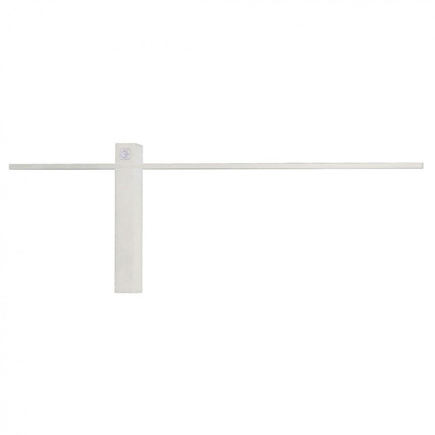Aplica de perete LED SABRE alb, 61cm W0282 MX, Aplice de perete LED, moderne⭐ modele potrivite pentru dormitor, living, baie, hol, bucatarie.✅DeSiGn LED decorativ 2021!❤️Promotii lampi❗ ➽ www.evalight.ro. Alege oferte NOI corpuri de iluminat cu LED pt interior, elegante din cristal (becuri cu leduri si module LED integrate cu lumina calda, naturala sau rece), ieftine si de lux, calitate deosebita la cel mai bun pret.  a