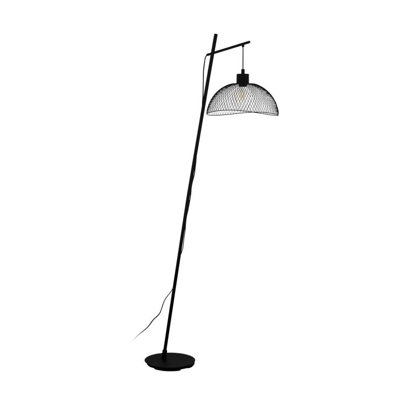 Lampadar design vintage POMPEYA 43307 EL, Lampadare moderne si lampi de podea cu picior inalt⭐ modele deosebite stil scandinav, retro sau vintage pentru living si dormitor.✅Design premium actual Top 2020!❤️Promotii lampi❗ ➽ www.evalight.ro. Alege oferte la lampadare de lux pt iluminat interior decorativ, rustice, clasice, industrial, cu reader LED, elegante cu cristale, cu masuta, cu picior tip trepied lemn, reglabil, telescopic curbat tip arc, abajur din sticla, tesatura cu flori, ieftine si de calitate la cel mai bun pret. a