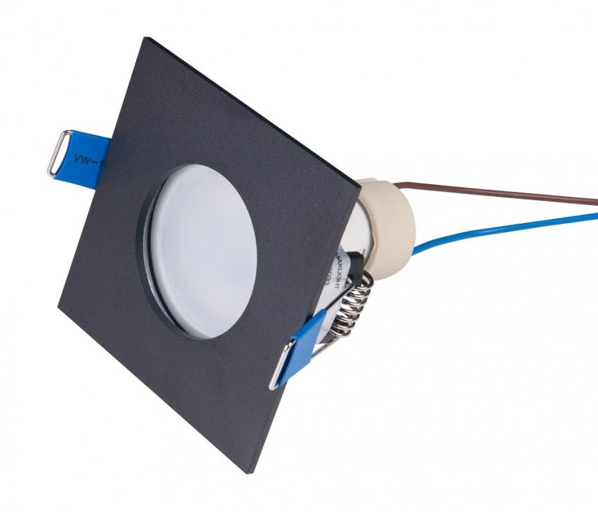 Spot incastrabil tavan fals / plafon IP44 SQUARE negru H0093 MX, Spoturi incastrate tavan / perete, LED⭐ modele moderne pentru baie, living, dormitor, bucatarie, hol.✅Design decorativ 2021!❤️Promotii lampi❗ ➽ www.evalight.ro. Alege oferte la colectile NOI de corpuri de iluminat interior de tip spot-uri incastrabile cu LED, cu lumina calda, alba rece sau neutra, montare in tavanul fals rigips, mobila, pardoseala, beton, ieftine de calitate la cel mai bun pret. a