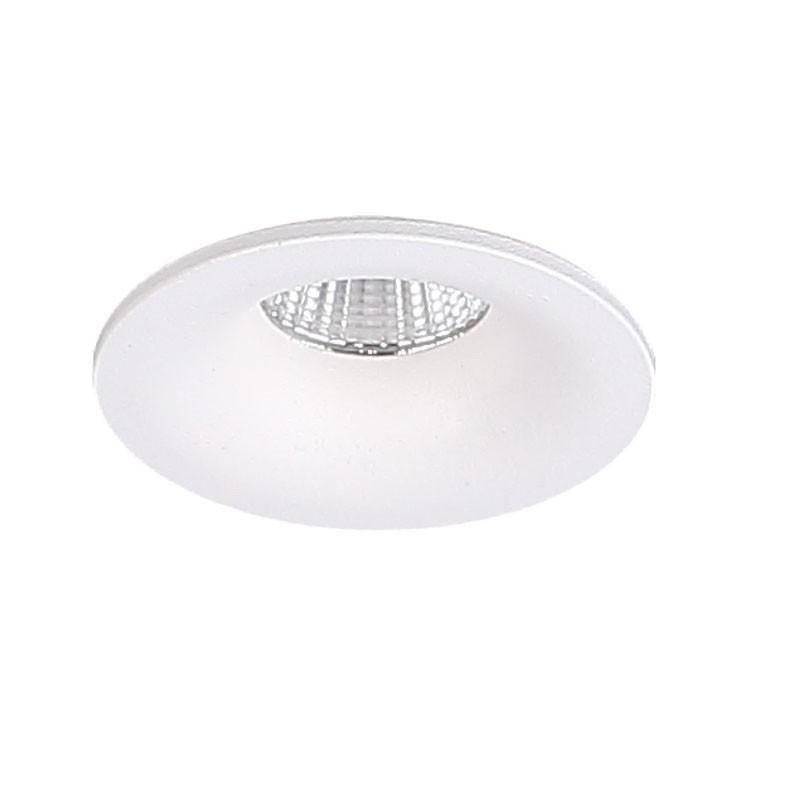 Spot LED incastrabil tavan fals YUCA FIXED alb H0102 MX, Spoturi incastrate tavan / perete, LED⭐ modele moderne pentru baie, living, dormitor, bucatarie, hol.✅Design decorativ 2021!❤️Promotii lampi❗ ➽ www.evalight.ro. Alege oferte la colectile NOI de corpuri de iluminat interior de tip spot-uri incastrabile cu LED, cu lumina calda, alba rece sau neutra, montare in tavanul fals rigips, mobila, pardoseala, beton, ieftine de calitate la cel mai bun pret. a