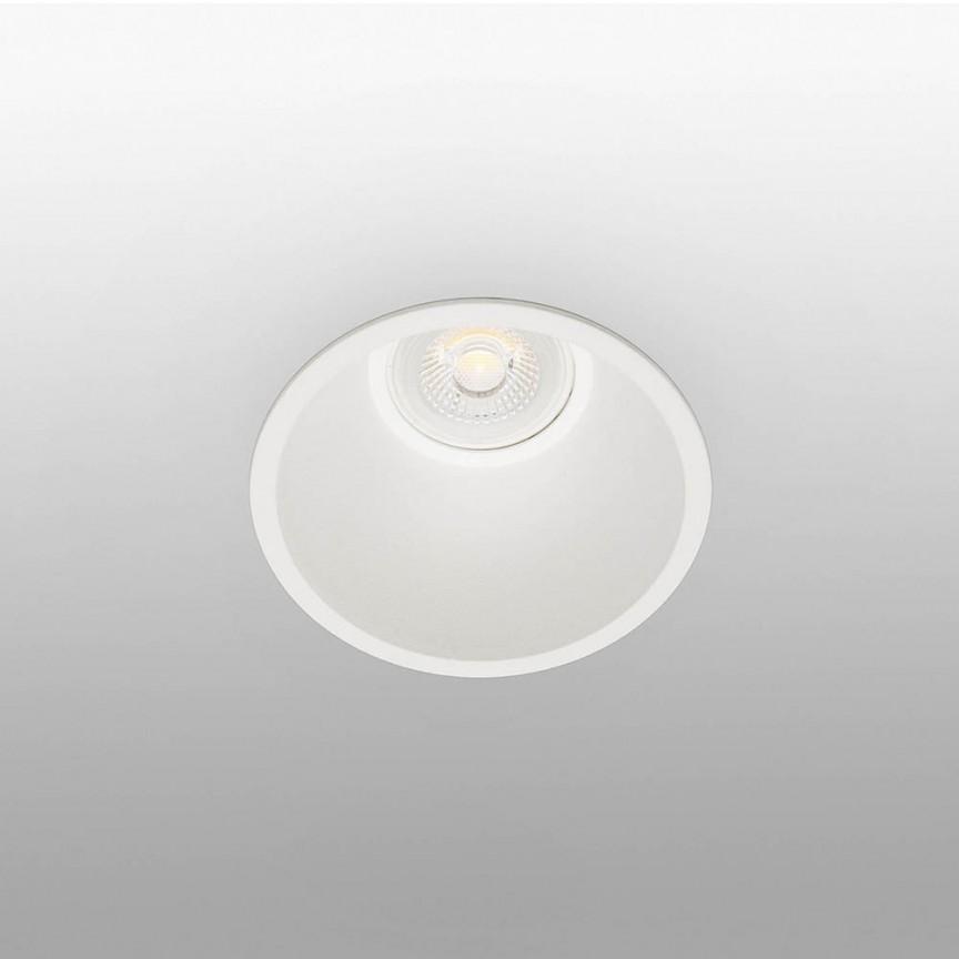 Spot incastrabil modern cu protectie IP65 FRESH alb 02101401, Spoturi incastrate tavan / perete, LED⭐ modele moderne pentru baie, living, dormitor, bucatarie, hol.✅Design decorativ 2021!❤️Promotii lampi❗ ➽ www.evalight.ro. Alege oferte la colectile NOI de corpuri de iluminat interior de tip spot-uri incastrabile cu LED, cu lumina calda, alba rece sau neutra, montare in tavanul fals rigips, mobila, pardoseala, beton, ieftine de calitate la cel mai bun pret. a