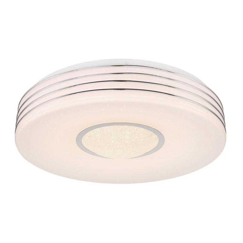 Plafoniera LED dimabila cu telecomanda design modern MEFFA 41299-40 GL, Lustre / Lampi LED cu telecomanda ⭐ modele moderne potrivite pentru dormitor, living.✅ Design premium actual Top 2020! ❤️Promotii lampi❗ ➽ www.evalight.ro. Alege oferte la corpuri de iluminat cu LED si telecomanda, dimabile (intensitate reglabila), 3 functii, (becuri cu leduri si module LED integrate cu lumina calda, naturala sau rece), ieftine si de lux, calitate deosebita la cel mai bun pret. a