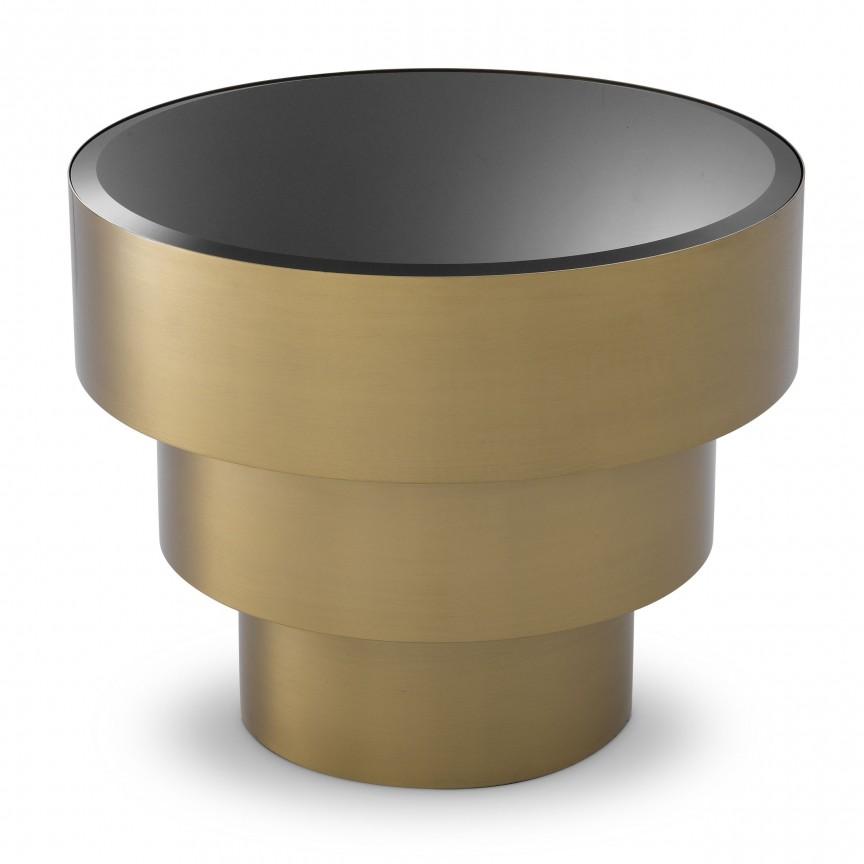 Masuta laterala design elegant LUX Sinclair 114553 HZ, Masute de cafea moderne⭐ mese cafea potrivite pentru living✅ modele de lux din lemn, metal sau sticla.❤️Promotii masute cafea deosebite❗ Descopera oferte ➽ www.evalight.ro. ➽ sursa ta de inspiratie online❗ Design premium actual Top 2020❗ Alege mese cafea elegante Art Deco in stil scandinav, vintage, retro, industrial style, clasic, baroc, minimalist, ieftine si de calitate la cel mai bun pret.   a