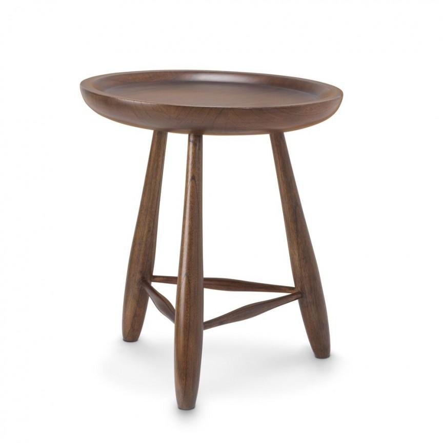 Masuta laterala design vintage LUX Ramirez S, maro 114642 HZ, Masute de cafea moderne⭐ mese cafea potrivite pentru living✅ modele de lux din lemn, metal sau sticla.❤️Promotii masute cafea deosebite❗ Descopera oferte ➽ www.evalight.ro. ➽ sursa ta de inspiratie online❗ Design premium actual Top 2020❗ Alege mese cafea elegante Art Deco in stil scandinav, vintage, retro, industrial style, clasic, baroc, minimalist, ieftine si de calitate la cel mai bun pret.   a