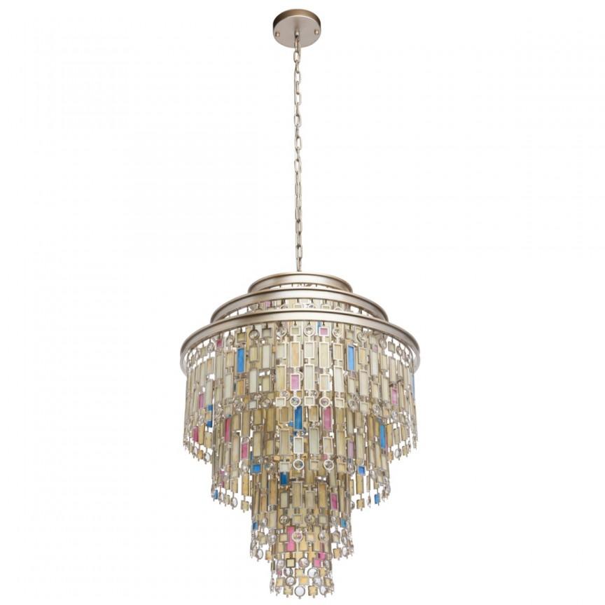 Candelabru design neoclasic Morocco Ø61cm 13L 185010913 MW, Candelabre clasice / Lustre si Pendule⭐ modele elegante potrivite pentru dormitor, living, sufragerie, bucatarie.✅Design premium actual Top 2020❗ ❤️Promotii lustre clasice❗ ➽ www.evalight.ro. Alege oferte la corpuri de iluminat interior în stil clasic decorativ de lux, industrial, retro sau vintage, suspensii de tip lampi suspendate deosebite, decorate cu margele cu cristal, abajur textil, de sticla, becuri normale tip lumanare cu filament sau LED, ieftine de calitate la cel mai bun pret. a