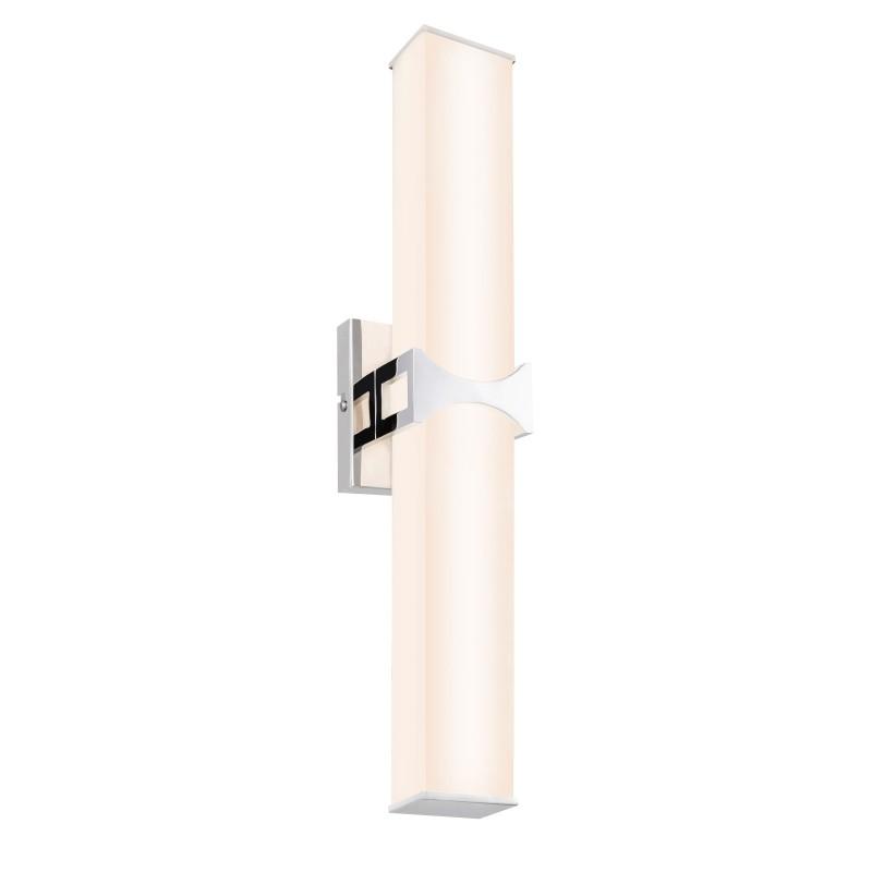 Aplica de perete LED pentru baie IP44 Cadiz 41507-24 GL, Aplice pentru baie / oglinda / tablou, perete⭐ modele moderne, clasice, potrivite in baie. ✅Design premium actual Top 2020! ❤️Promotii lampi baie cu LED❗ ➽ www.evalight.ro. Alege oferte la corpuri de iluminat de perete baie LED si tavan tip plafoniere, pt interior, cu priza, intrerupator (snur), senzor, rezistente la apa (umiditate), ieftine sau de lux, calitate deosebita la cel mai bun pret! a