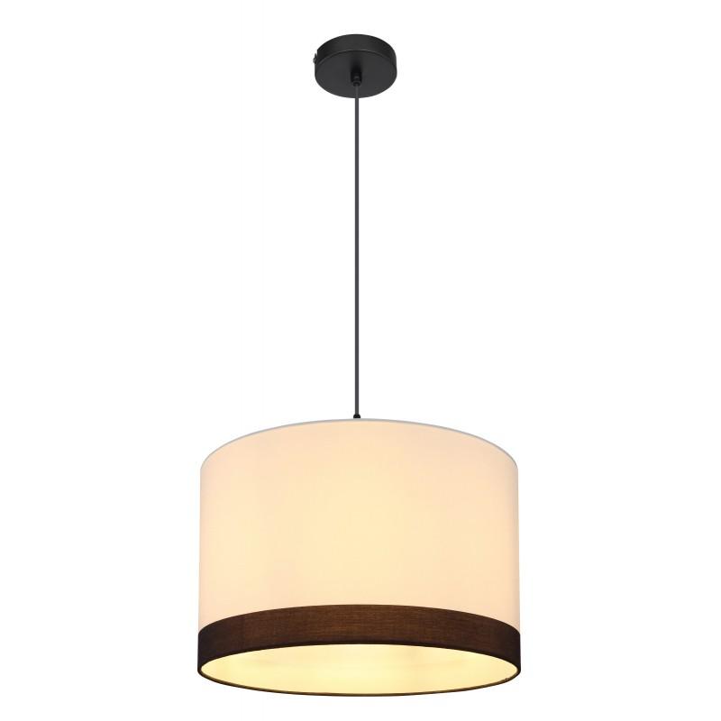 Pendul design modern Maggy alb, negru 15385H GL,  a