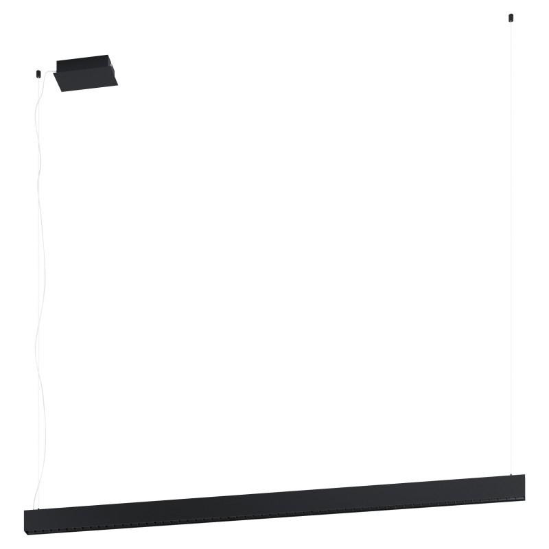 Lustra LED dimabila design modern TERMINI negru 39485 EL,  a