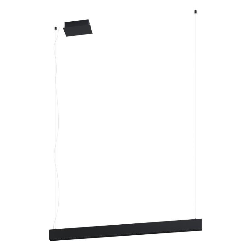 Lustra LED dimabila design modern TERMINI negru 39486 EL,  a