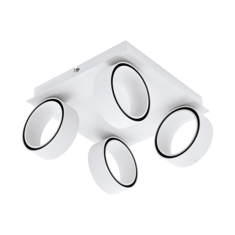 Plafoniera cu 4 spoturi LED ALBARIZA 39587 EL, Plafoniere LED / Lustre tavan / perete cu LED⭐ modele moderne pentru dormitor, living, bucatarie, baie, hol.✅Design premium actual Top 2020!❤️Promotii lampi LED❗ ➽ www.evalight.ro. Alege oferte la corpuri de iluminat LED interior de tip  plafoniere LED, aplice cu spoturi LED, montare aplicate pe tanan fals (plafon rigips) sau perete, potrivite pt camere casa cu tavane joase, forme (rotunde, patrate), cu senzor, bec-uri LED economice cu panou LED integrat, lumina calda, rece, lumina neutra (naturala), ieftine si de lux in stil elegant, calitate deosebita la cel mai bun pret. a