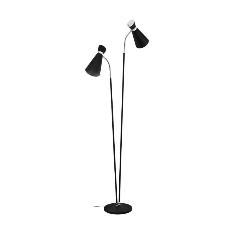 Lampadar modern cu 2 brate SARDINARA 39399 EL, Lampadare moderne si lampi de podea cu picior inalt⭐ modele deosebite stil scandinav, retro sau vintage pentru living si dormitor.✅Design premium actual Top 2020!❤️Promotii lampi❗ ➽ www.evalight.ro. Alege oferte la lampadare de lux pt iluminat interior decorativ, rustice, clasice, industrial, cu reader LED, elegante cu cristale, cu masuta, cu picior tip trepied lemn, reglabil, telescopic curbat tip arc, abajur din sticla, tesatura cu flori, ieftine si de calitate la cel mai bun pret. a