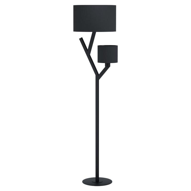 Lampadar modern negru cu 2 brate BALNARIO 39889 EL, Lampadare moderne si lampi de podea cu picior inalt⭐ modele deosebite stil scandinav, retro sau vintage pentru living si dormitor.✅Design premium actual Top 2020!❤️Promotii lampi❗ ➽ www.evalight.ro. Alege oferte la lampadare de lux pt iluminat interior decorativ, rustice, clasice, industrial, cu reader LED, elegante cu cristale, cu masuta, cu picior tip trepied lemn, reglabil, telescopic curbat tip arc, abajur din sticla, tesatura cu flori, ieftine si de calitate la cel mai bun pret. a