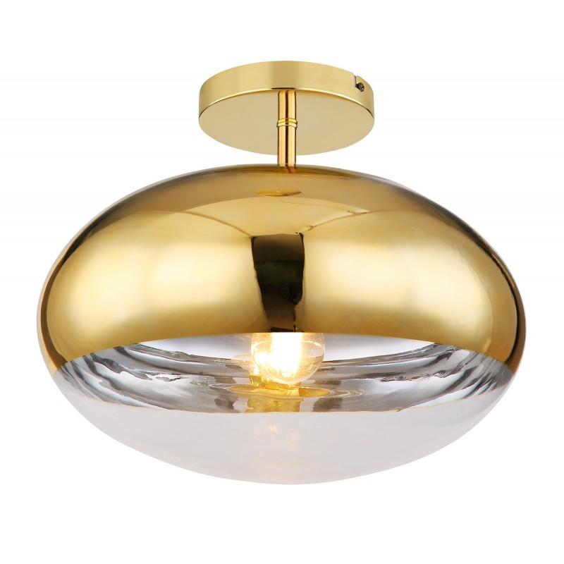 Plafoniera design modern ANDREW auriu 15445DG GL,  a