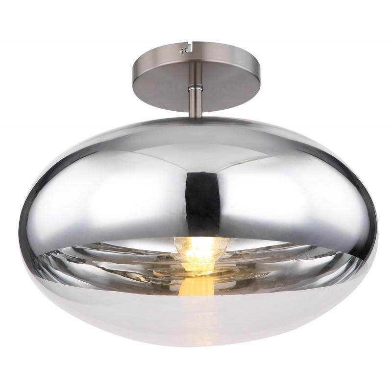 Plafoniera design modern ANDREW nichel mat 15445DC GL,  a