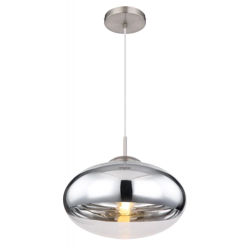 Pendul design modern ANDREW nichel mat 15445HC GL,  a