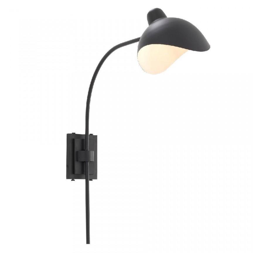 Aplica design LUX Pelham negru 114798 HZ,  a